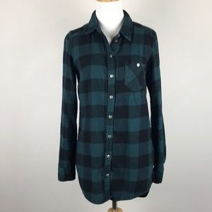 DIVIDED • Checkered Button-Up